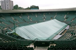 Centre Court covered - But not at The Core!